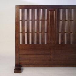 和風衝立TATEGOSHI幅120cm(縦格子/たてごうし)衝立つい立てついたて間仕切りパーテーションパーティションスクリーン木製モダンおしゃれ和モダン和風1連置き型
