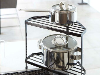 調理器具や調味料置きに最適