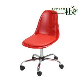あずま工芸 Blitz Desk Chair ブリッツ デスクチェア EDC-4341 EDC-4344 EDC-4349 ホワイト ブラック レッド デスク 上下昇降 オフィス キャスター付き 肘置き無し 送料無料