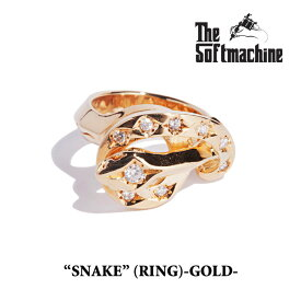 SOFTMACHINE(ソフトマシーン)SNAKE(GOLD RING)【2019SPRING&SUMMER先行予約】【送料無料】【SOFTMACHINE リング】