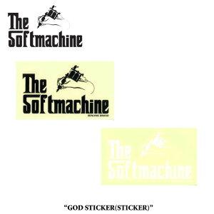 SOFTMACHINE(ソフトマシーン)GOD STICKER(STICKER)【先行予約】【キャンセル不可】【SOFTMACHINE(ソフトマシーン) ステッカー】