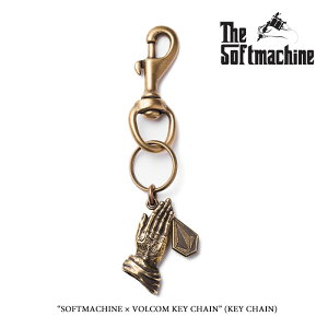 SOFTMACHINE(ソフトマシーン)SOFTMACHINE×VOLCOM KEY CHAIN【先行予約】【キャンセル不可】【SOFTMACHINE コラボ】【SOFTMACHINE キーチェーン】【SOFTMACHINE×VOLCOM】