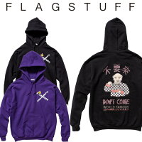 F-LAGSTUF-F(フラグスタフ)×Don'tComeHOODIE【5thAnniversaryitem】【F-LAGSTUF-F】【フラグスタフ】【フラッグスタッフ】【パーカー】【2019SS-5th-FS×Don'tCome-01】