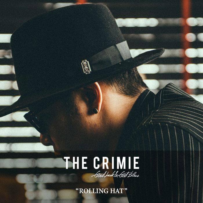 CRIMIE(クライミー)ROLLING HAT【2018 AUTUMN/WINTER新作】【C1H5-CXHT-RH01】