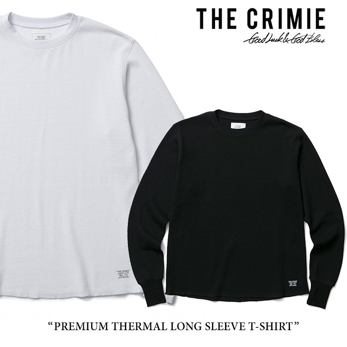 CRIMIE(クライミー)PREMIUM THERMAL LONG SLEEVE T-SHIRT【2017AUTUMN/WINTER新入荷】【即発送可能】【C1G5-CXTE-TH01】【CRIMIE Tシャツ】
