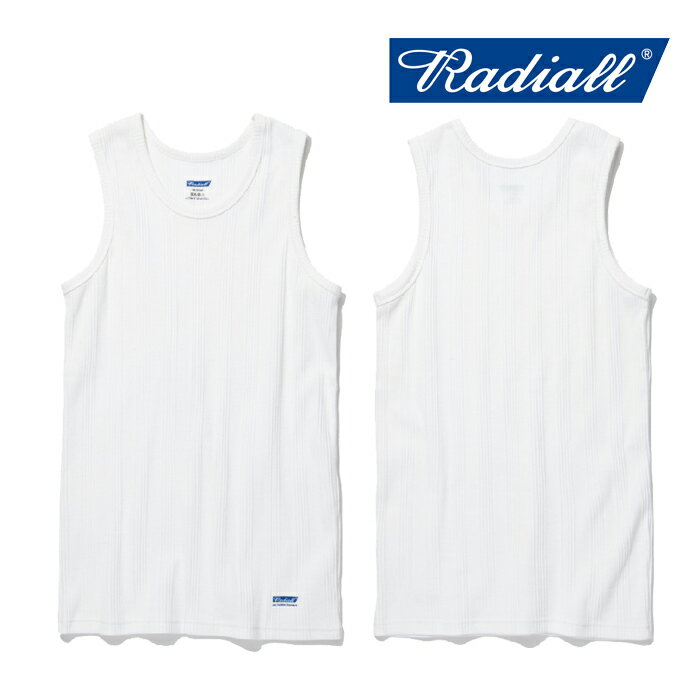 RADIALL(ラディアル)BASIC-TANK TOP【2019 SPRING&SUMMER COLLECTION】【RAD-1...