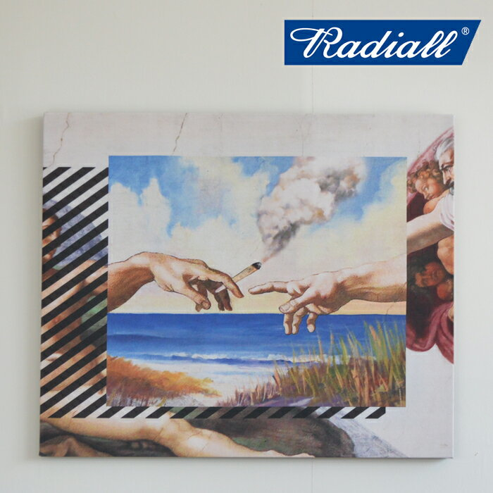 RADIALL(ラディアル)HEAVEN'S DOO-PRINTED CANVAS【RAD-19SS-SPOT-ACC001】
