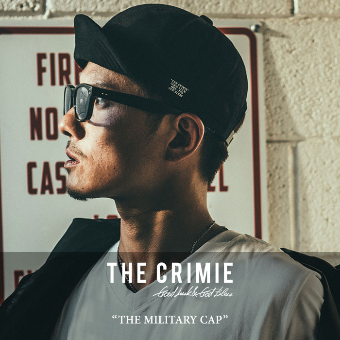 CRIMIE(クライミー)THE MILITARY CAP【新入荷】【C1H5-CXCP-AM01】