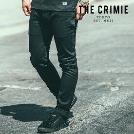 CRIMIE(クライミー)LEX STRETCH CHINO PANTS【2019AUTUMN&WINTER新作】【即発送可能】【CR01-01K5-PL10】【チノパンツ】【黒 ブラック おしゃれ】
