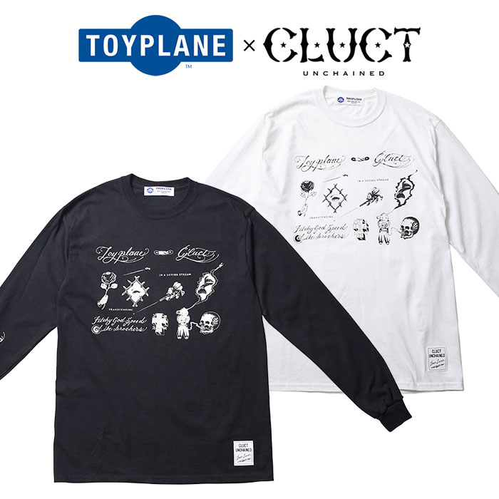 TOYPLANE(トイプレーン)×CLUCT(クラクト)L/S FLASH TEE【SPECIAL COLLABORATION】...