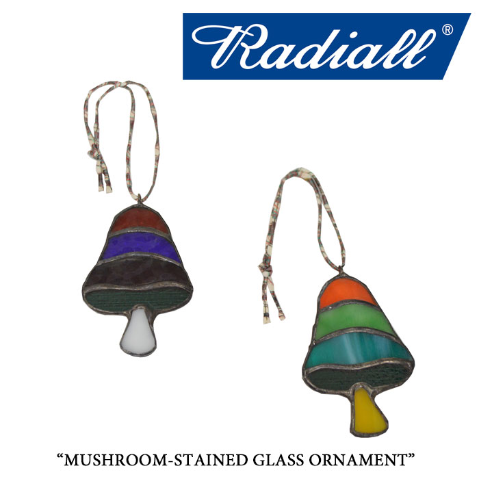 RADIALL(ラディアル)MUSHROOM-STAINED GLASS ORNAMENT【2017AUTUMN/WINTER新作】【即発送可能】【RADIALL オーナメント】【RAD-17AW-JW010】
