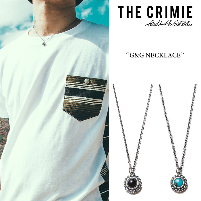 CRIMIE(クライミー)G&G NECKLACE【2017SUMMER新作】【送料無料】【即発送可能】【C1G3-CXAG-GN01】【C1G3-CXAG-GN03】【CRIMIE ネックレス】