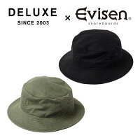 EvisenSkateboards(エヴィセンスケートボード)DELUXE×EVISENSWITCH【バケットハット帽子】【デラックスコラボレーション】【2021SPRING&SUMMERCOLLECTION】【00005379】