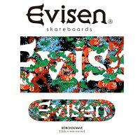 EvisenSkateboards(エヴィセンスケートボード)BONCHOUWAVE【デッキスケートボードスケボー】【2021SPRING&SUMMERCOLLECTION】【159386955】