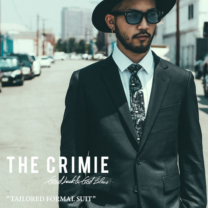 CRIMIE(クライミー)TAILORED FORMAL ALL SEASON SUIT【2018A/W新作】【C1H5-CXST02...