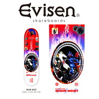 EvisenSkateboards(エヴィセンスケートボード)SHORWEST【デッキスケートボードスケボー】【SHORWESTモデル】【2021SPRING&SUMMERCOLLECTION】【159387636】