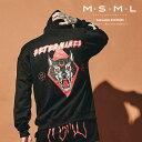 MSML(MUSIC SAVED MY LIFE) WOLF HOODIE【2019AUTUMN&WINTER先行予約】【キャンセル不可】【M201-01K5-CL52】【MSML(M…