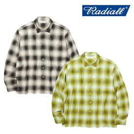 RADIALL(ラディアル)FAME - OPEN COLLARED SHIRT L/S【オープンシャツ 長袖】【2020 AUTUMN&WINTER COLLECTION】【RAD-20AW-SH002】