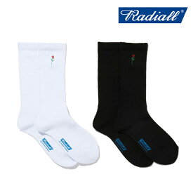 RADIALL(ラディアル)ROSE - 2PAC SOX LONG【スケートソックス 靴下】【2021 SPRING&SUMMER COLLECTION】【RAD-PAC038】