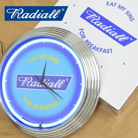 RADIALL(ラディアル)FLAGS-NEONCLOCK-【2019SPRING&SUMMERSPOTCOLLECTION】【RAD-18SS-SP-ACC002】
