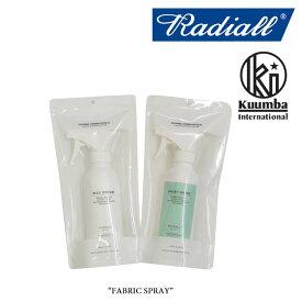 RADIALL(ラディアル)FABRIC SPRAY(ファブリックスプレー)【RADIALL ファブリックスプレー】【KUMMBA】【クンバ】【RAD-KMB007】【RAD-KMB008】【RADIALL 正規取り扱い店】