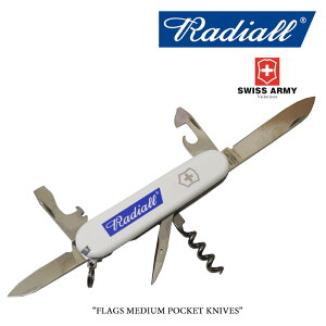 RADIALL(ラディアル)FLAGSMEDIUMPOCKETKNIVES【2018SPOT新作】【RADIALL×VICTORINOX】【RAD-18SS-SPOT-JW001】