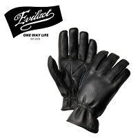 EVILACT(イーブルアクト)MCGTS(オイルドレザースリーシーズングローブ)black【レザーグローブ手袋バイクバイカー】
