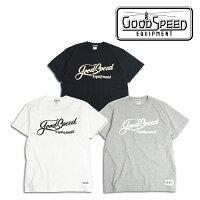 GOODSPEEDequipment(グッドスピードエクイプメント)LetteringLogoS/ST's【ショートスリーブTEE】【GSE21-TS18S】