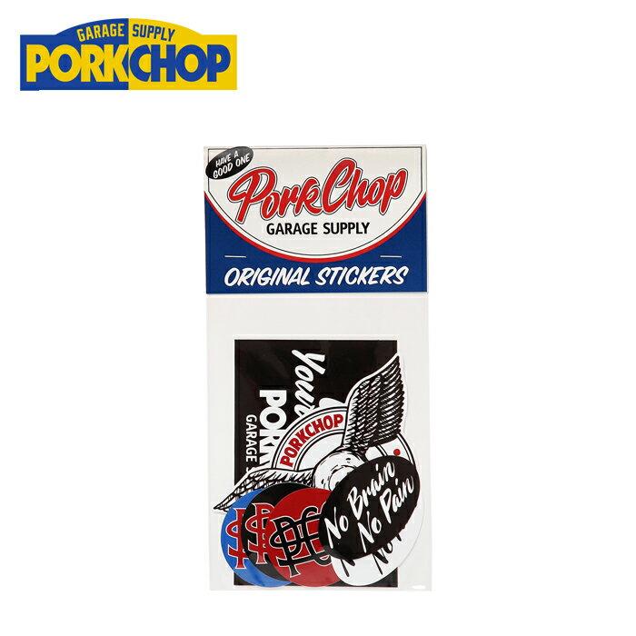 PORKCHOP GARAGE SUPPLY(ポークチョップ ガレージサプライ)WING PORK STICKER SET...