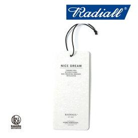 RADIALL(ラディアル)NICE DREAM FRESHENER air freshener(エアフレッシュナー)【RADIALL エアフレッシュナー】【KUMMBA】【クンバ】【RAD-16SS-JW006】【RADIALL×KUMMBA】