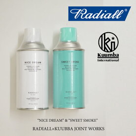 RADIALL(ラディアル)SWEET SMOKE SPRAY air freshner spray(エアフレッシュナースプレー)【RADIALL エアフレッシュナースプレー】【KUMMBA】【クンバ】【RAD-16SS-JW004】【RADIALL 正規取り扱い店】