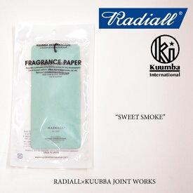 RADIALL(ラディアル)SWEET SMOKE FRESHENER air freshener(エアフレッシュナー)【RADIALL エアフレッシュナー】【KUMMBA】【クンバ】【RAD16AW-JW005】【RADIALL×KUMMBA】
