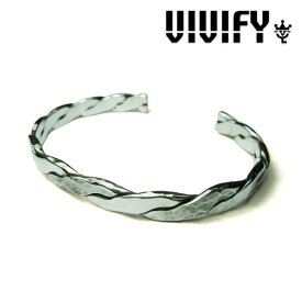 VIVIFY(ヴィヴィファイ)Twist & Press Bangle(Silver x Silver)【バングル】【送料無料】