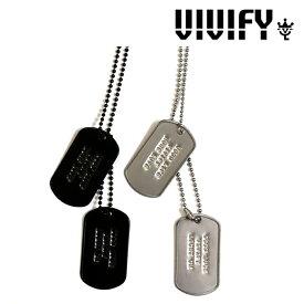 VIVIFY(ヴィヴィファイ)4L Dog Tag【オーダーメイド 受注生産】【キャンセル不可】【VIVIFY ネックレス】【VFN-237】