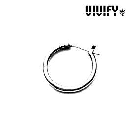 VIVIFY(ヴィヴィファイ)(ビビファイ)Hoop Pierce【フープ ピアス】【VFP-090】【シルバー】【受注生産 オーダーメイド】【キャンセル不可】