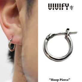 VIVIFY(ヴィヴィファイ)(ビビファイ)Hoop Pierce(S)【フープ ピアス】【シルバー】【VFP-096】【即発送可能】