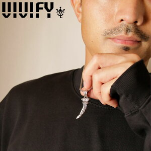 VIVIFY(ヴィヴィファイ)(ビビファイ)Arabesque Bear Claw Pendant Head【VIVIFY ペンダントヘッド】【VFN-301】【オーダーメイド ハンドメイド 受注生産】【キャンセル不可】
