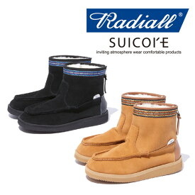 【SALE30%OFF】RADIALL(ラディアル)RED WOOD - MOUTON BOOTS【ムートンブーツ】【セール】【SUICOKE スイコック】【RAD-18AW-JW001】【返品・交換不可】