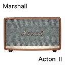 【1年保証】Marshall ACTON II マーシャル アクトン2 Bluetoothスピーカー (Brown)