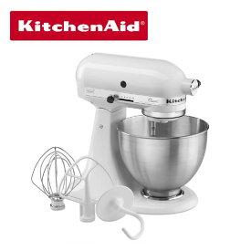 KitchenAid キッチンエイド ミキサー Classic ホワイト K45SSWH 4 1/2クォート 並行輸入品