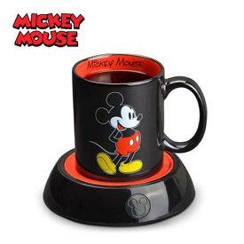 ディズニー Disney ミッキーマウス マグカップとマグカップウォーマー
