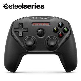 SteelSeries Nimbus Bluetooth接続 Apple製デバイス対応 ワイヤレスゲーミングパッド ブラック Black 69070