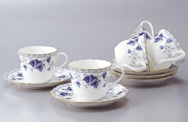 【NARUMI(ナルミ) ソラリア】 5客コーヒー碗皿