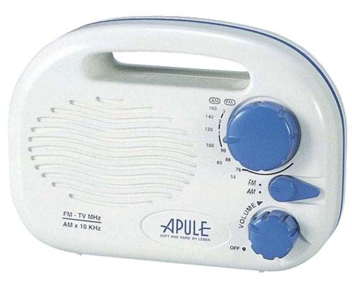 アプレ 防滴ラジオ(FM/AM)AP-152