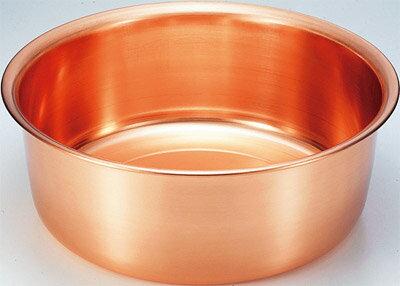 純銅製 洗い桶33cm S-9360 【楽ギフ_包装】【楽ギフ_のし宛書】