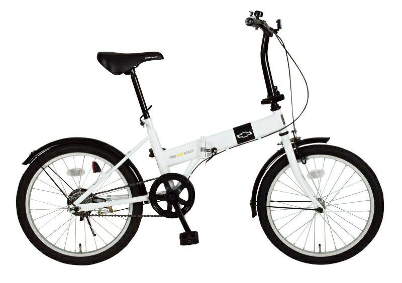 「折りたたみ自転車」CHEVROLET FDB20R シボレー MG-CV20R 【送料無料 送料込み】