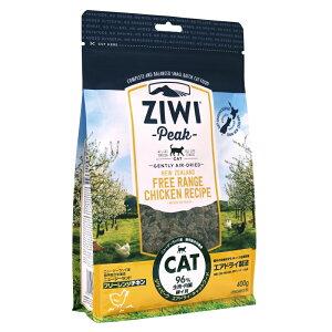 [400g]ZiwiPeak エアドライ・キャットフード フリーレンジチキン 400g[ジウィピーク/鶏肉/グレインフリー/成猫/高齢猫/シニア猫/ペット]