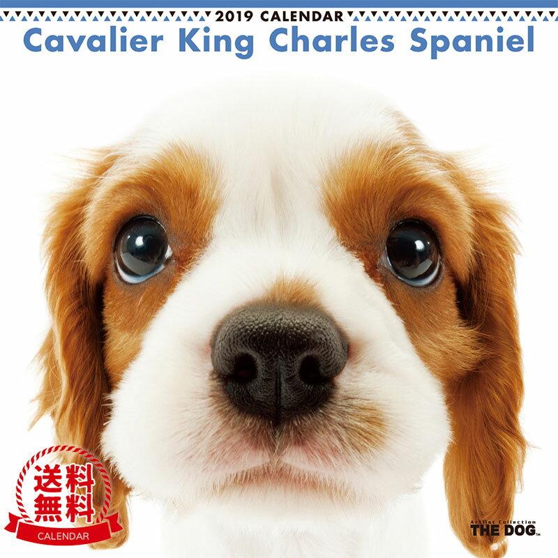 【送料無料】【あす楽】THE DOG 2019年 カレンダー キャバリア キング チャールズ スパニエル