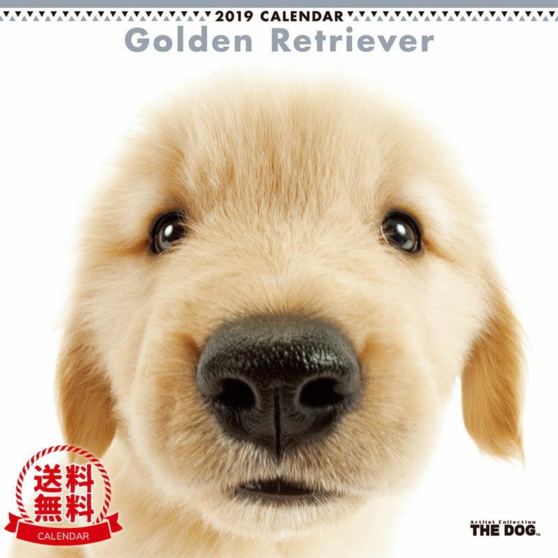 【送料無料】【あす楽】THE DOG 2019年 カレンダー ゴールデンレトリーバー