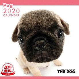 【送料無料】THE DOG 2020年 カレンダー パグ[犬/ドッグ/ペット/calendar/令和/壁掛け]